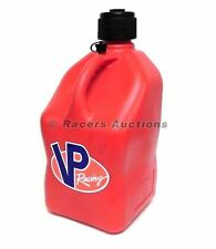 Square Red VP Motorsports Utility Jug Racing Fuel Gas Storage Container 5 Gallon