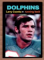 Larry Csonka '72 Miami Dolphins Monarch Corona Glory Days #23 nm-mint cond.