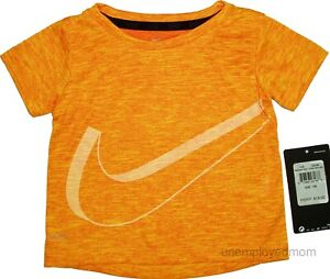 Nike Tee Boys Athletic Top Shirt NWT Active Wear Sports Saying Infants Toddlers