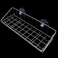Large Stainless Wire Net Dish Washing Sponge Suction Cup Holder Scrubber Sink