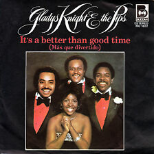 "7"" promo GLADYS KNIGHT the PIPS it's a better than good time 45 SPAIN 1978 SOUL"