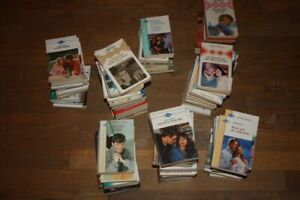 LOT DE 100 ROMANS D'AMOUR HARLEQUIN: COLLECTIONS DIVERSES (82 LIVRES) !!