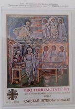 1997 - VATICANO - PRO TERREMOTATI FOGLIETTO - NUOVO