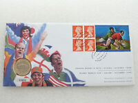1999 British Rugby World Cup Tournament £2 Two Pound Coin First Day Cover