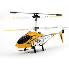 Hot Yellow edition with Gyro S107 3.5CH Remote Control RC Helicopter Toys Metal