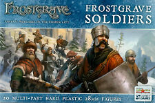 Northstar and Osprey Frostgrave Soldiers Multi-part hard plastic 28 mm (20) New