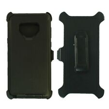 For Samsung Galaxy Note 9 Case Cover W/Clip Fit Otterbox Defender Black