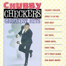 Chubby Checker's Greatest Hits CD The Twist Let's Twist Again Limbo Rock Dancing