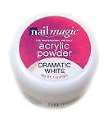 NAIL MAGIC ACRYLIC SCULPTING POWDER DRAMATIC PURE WHITE 30 g. REQUIRES LIQUID
