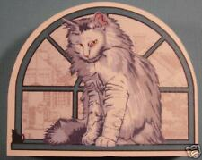 Cat's Meow Village Purebred Cats: Norwegian Forest Cat