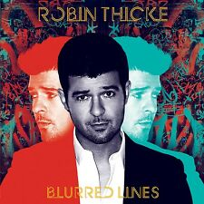 Blurred Lines - Robin Thicke CD Sealed New
