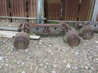 Military Tank Semitrailer 40 Ton M15 Axle Assembly WWII