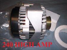 HIGH AMP ALTERNATOR CHEVROLET HUMMER H2 6.0L V8 2007 HUMMER H3 5.3L V8 2008 SAAB