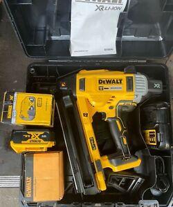 Dewalt DCN890P2 18v 2x5.0Ah XR Concrete Nailer Nail Gun Nailing - DCN890P2