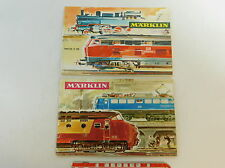av364-0, 5 #2x Märklin Catalogue (without Coupon): 1968/69 D DM +1965/66 D DM