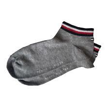 Tommy Hilfiger Ankle Socks Small Flag Heather Grey