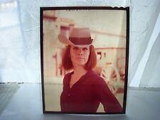 STEFANIE POWERS GLAMOUR PORTRAIT 6 color TRANSPARENCY/SLIDE ORIGINAL movie photo