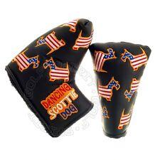 US Flag Scottie Dog Head Cover for Scotty Cameron Newport GoLo California Putter