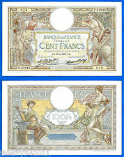 France 100 Francs 1931 27 August Serie F Merson Europe Frcs Frc Free Ship Wrld