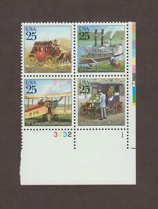 US,2434-37,MAIL DELIVERY,PLATE BLOCKS,,MNH VF COLLECTION