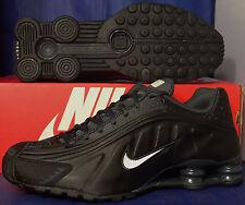 Nike Shox R4 Black White Anthracite SZ 8.5 ( 104265-039 )
