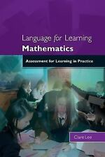 Language for Learning Mathematics: Assessment for Learning in Practice (Paperbac