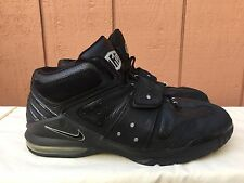 EUC Nike Air Force OPERATE MAX 1 BLACK CHROME SILVER GREY 310429-001 US 13