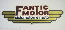 ADESIVO MOTO anni '80 / Old Sticker FANTIC MOTOR CROSS CICLOMOTORI (cm 21 x 7)