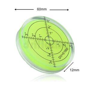 60mm Large Spirit Bubble Degree Surface Level Round, Circular Caravan Bulls Eye