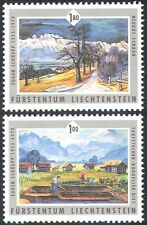 Liechtenstein 2006 Schuepp/Art/Artists/Paintings/Landscapes 2v set (n42410)