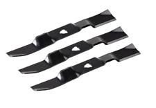 3 Messer Messersatz passend Stiga Park 125 Combi 1134-9125-01 ab 2007 Aufsitzmäh