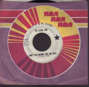 GARAGE 45/OTHER TWO on RCA promo: Don't you wanna love Baby