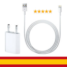 Cargador iPhone Cargador USB +Cable Lightning 8 PIN iPhone 6 6S 7 8 X Plus iPad