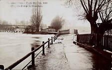 Caversham. The Great Thames Flood 1908. Clapper's Foot-Path.
