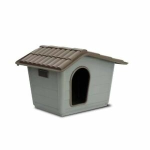 Kennel for Dogs Cats Eco Sprint Medium Plastic Garden House Outdoor Shelter