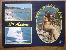 carte postale Postcard SAINTE MAXIME NATURISME FKK AKT nu artistique