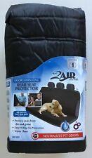 Dog Pet Rear Car Seat Cover Protector Who-Rae 2Air Black