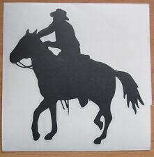 #M26 Aufkleber Country Western USA Amerika Cowboy Reiter WildWest Hut Pferd Auto