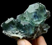 174g Rare Beauty Green Fluorite Crystal Mineral Specimen/China