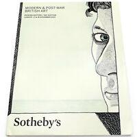 SOTHEBY'S Modern & Post-War British Art AUCTION CATALOG November 2015 L15143
