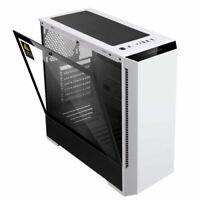 P2W ATX/Micro ATX/ITX Computer Case PC Gaming Case Tempered Glass Side Windows