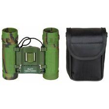 MFH Binocolo militare pieghevole 8x21 Binocular Woodland