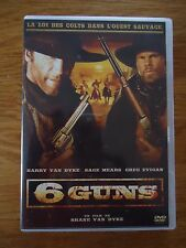 DVD * 6 GUNS *  Barry VAN DYKE  Sage MEARS Greg EVIGAN WESTERN