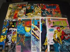 WEB 1-10 and 1 ANNUAL IMPACT COMIC RUN SET 1 2 3 4 5 6 7 8 9 10 ANNUAL 11 TOTAL