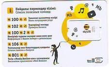 Sim-card Beeline 4G. Kazakhstan.