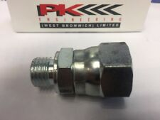 LPG gas fitting 3/4 JIC x 8L  tube  this fitting is from tank to supply 10 off