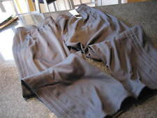 NWT - Mens ADIDAS Black Fleece Lined Athletic Pants (Size 5XL)