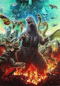 I Love King of the Godzilla Jigsaw Puzzle 1000 Pieces