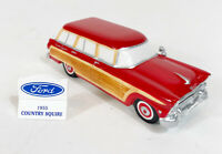 Dept.56 1955 Original Snow Village 1955 Ford Country Squire Red Station Wagon