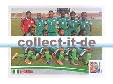 Panini Frauen WM World Cup 2015  - Sticker 309 - Team Nigeria